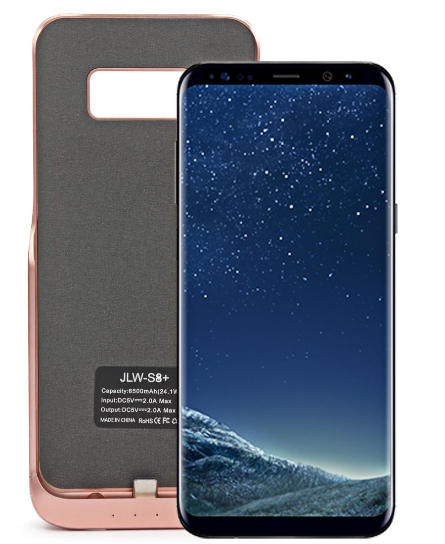 Samsung S8 Plus Power Charging Case 5500mAh  - Rose Gold