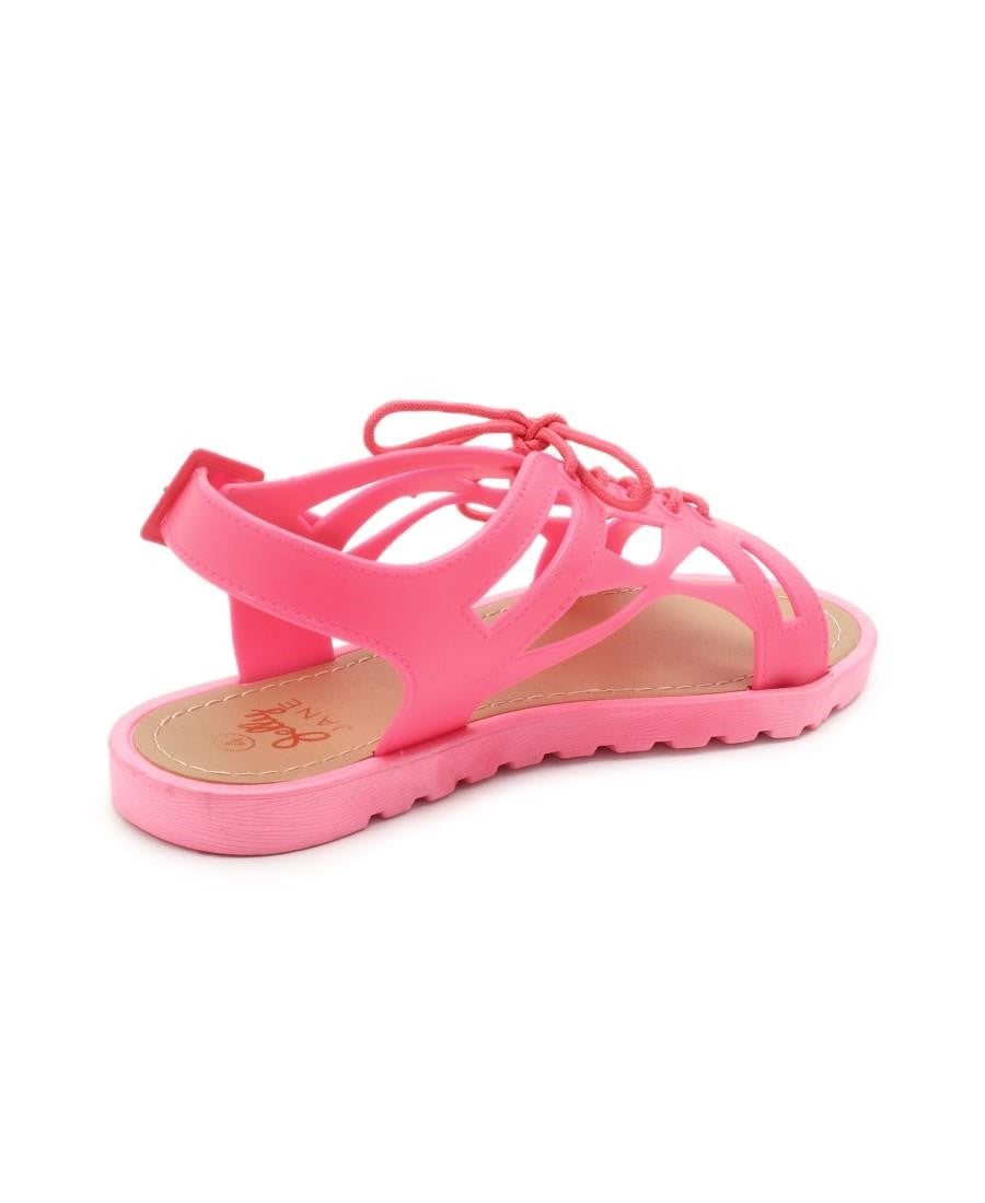 Jelly Sandals  - Coral
