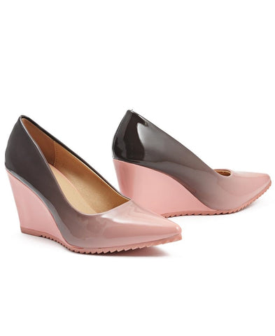 Ombre Wedge - Mink