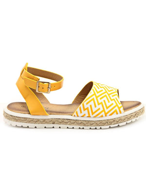 Casual Sandals  - Yellow