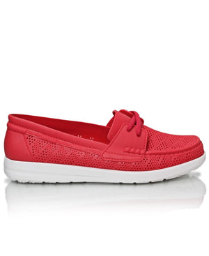 Casual Slip On - Red