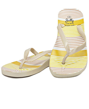 Jelly Sandals - Beige