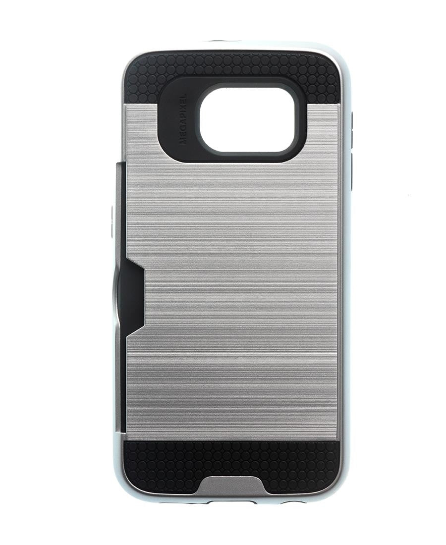 Samsung S6 Cover - Silver