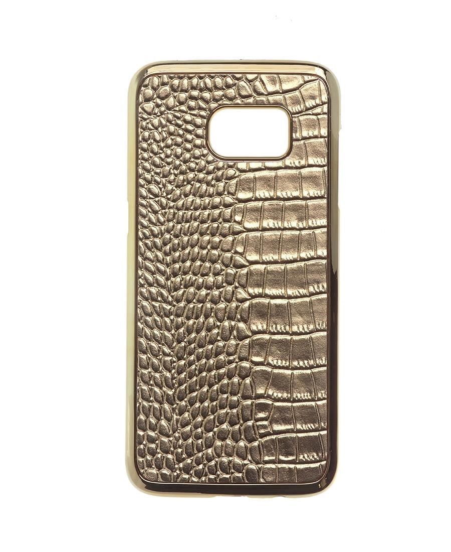 Samsung S7 Edge Cover - Gold