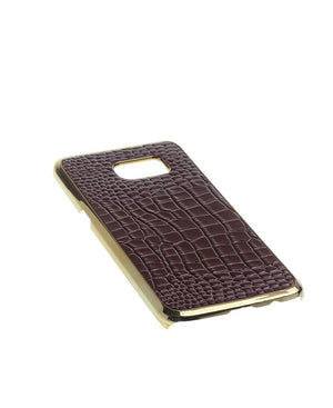 Samsung S7 Edge Cover  - Brown