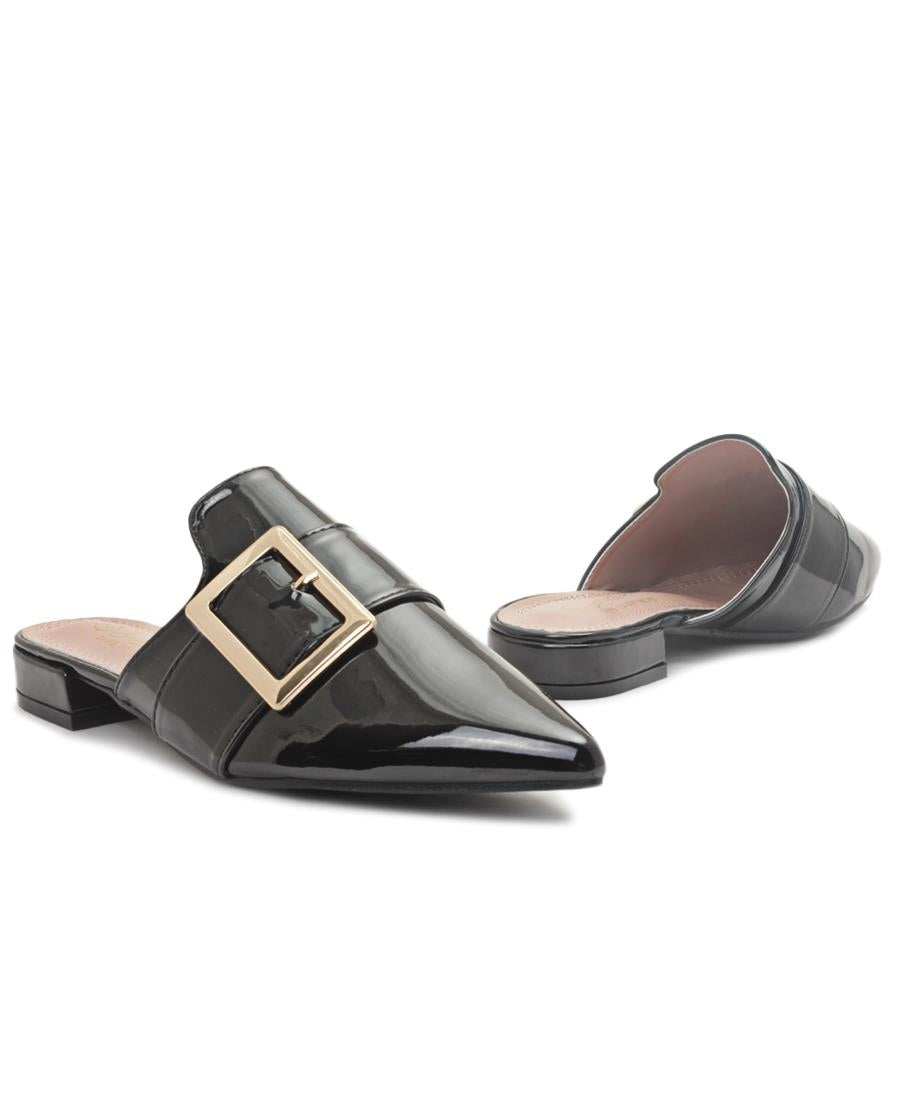 Slip On Sandals - Black