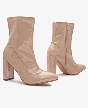 Ankle Boots - Nude