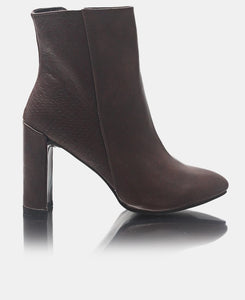Ankle Boots - Choc
