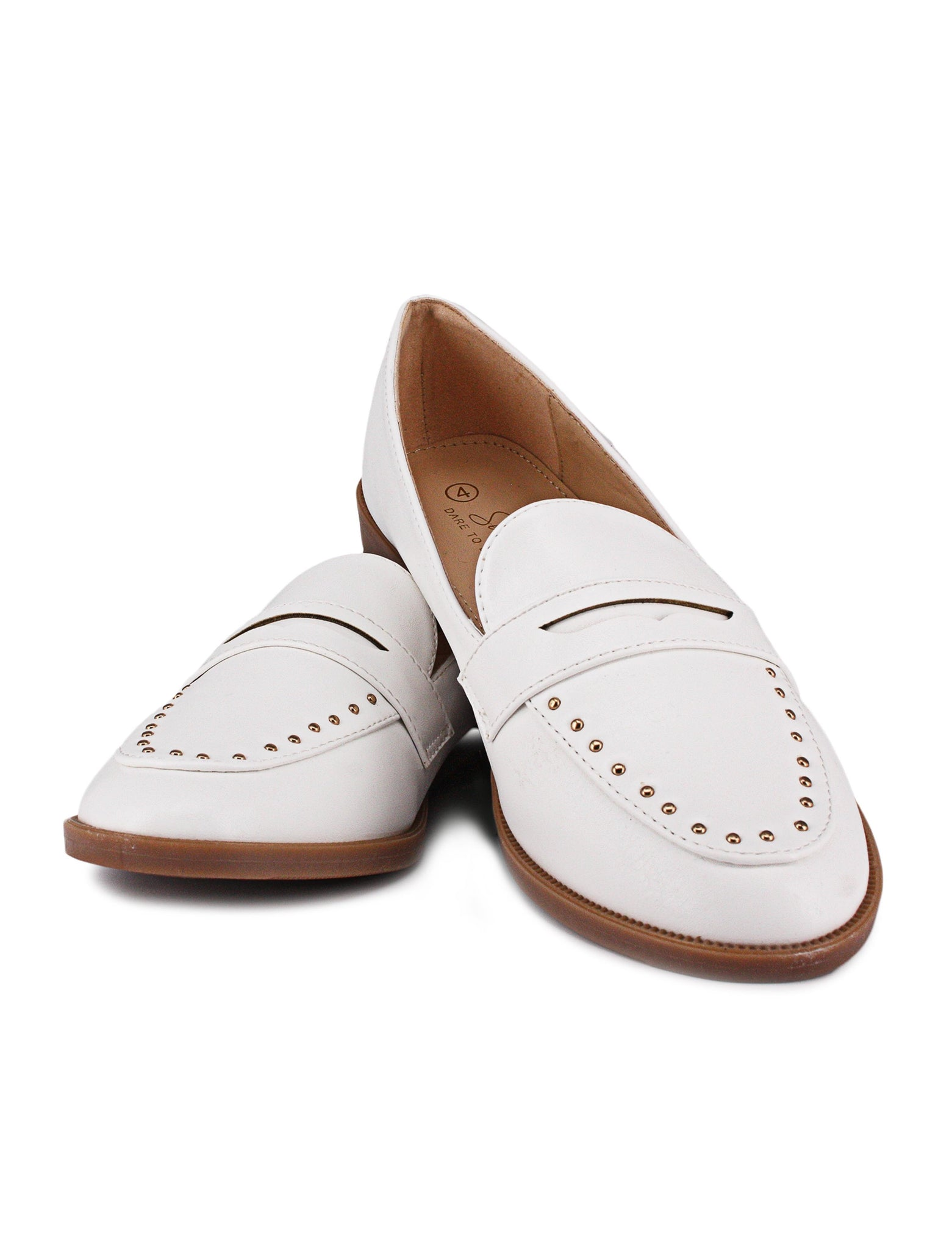 Classic Loafer - White
