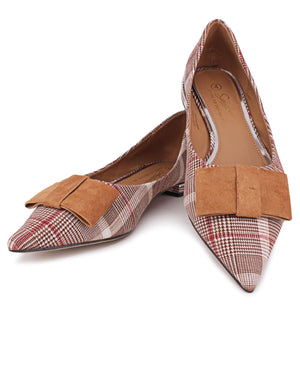 Pointy Pumps - Tan