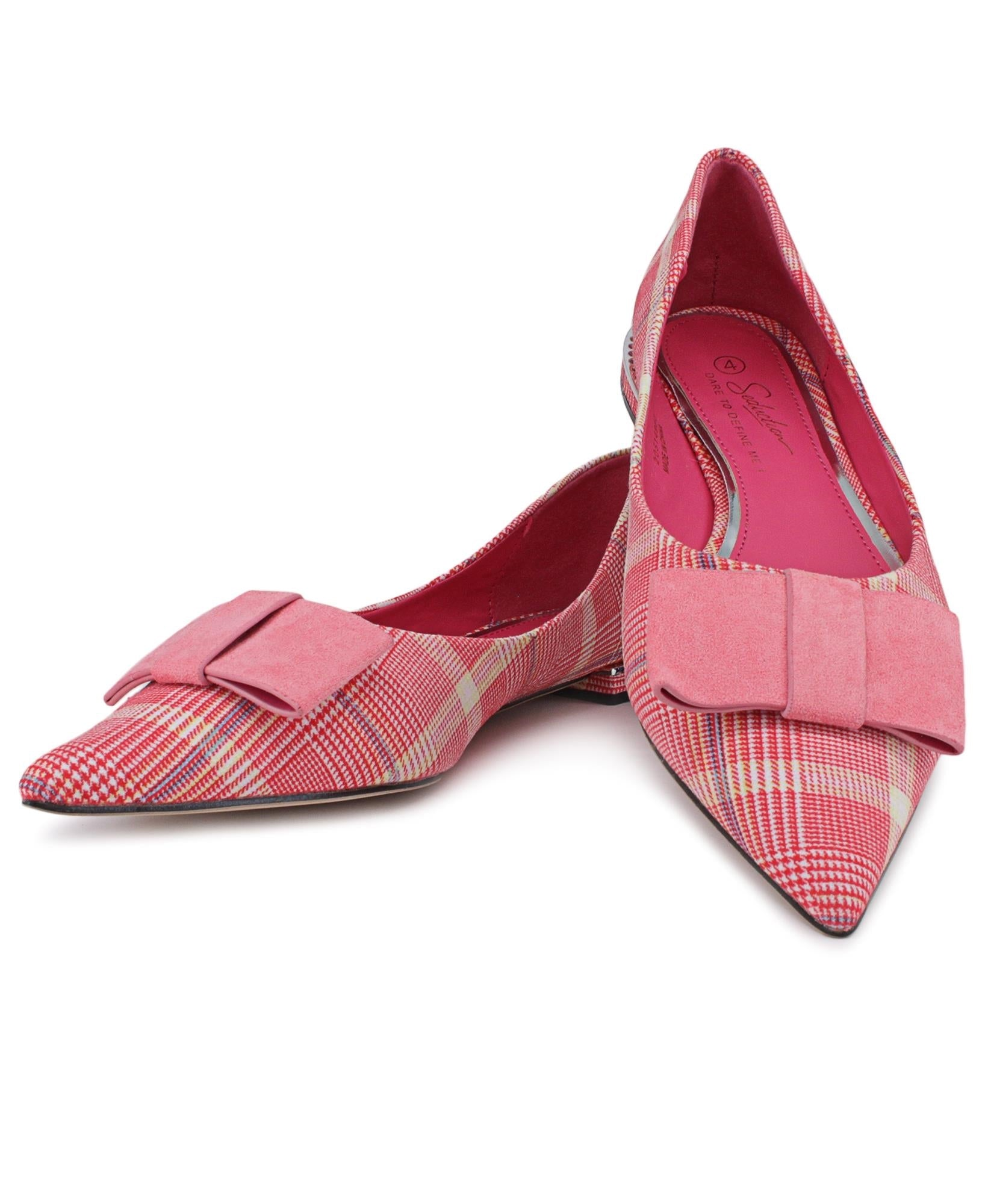 Pointy Pumps - Fuschia