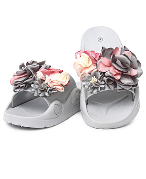 Jelly Sandals - Grey