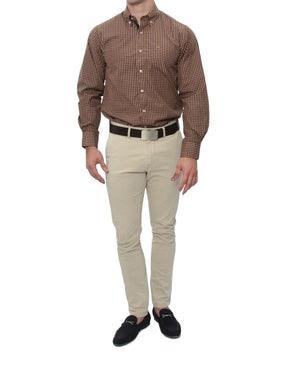 Regualr Fit Shirt - Brown