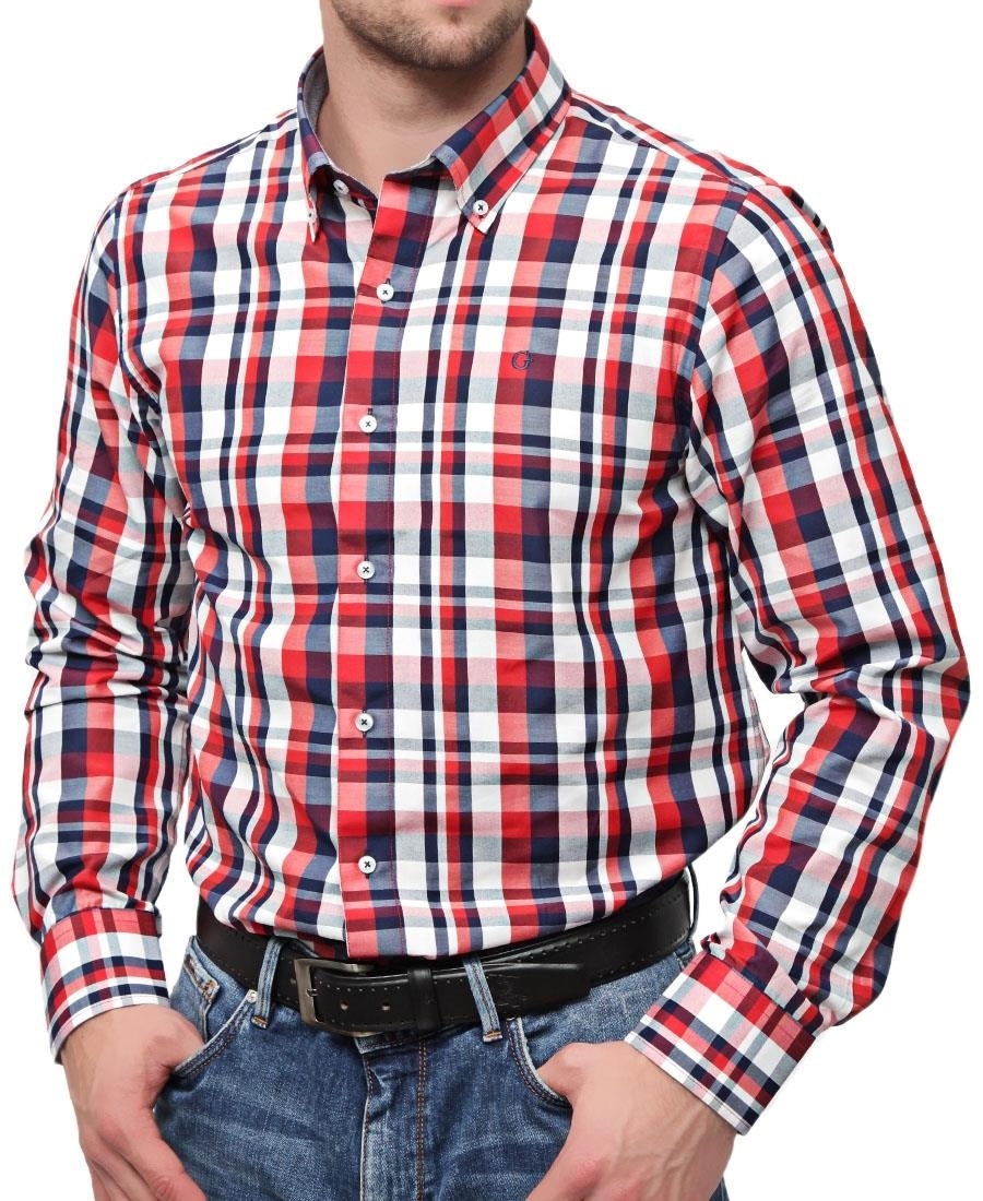 Check Shirt - Red