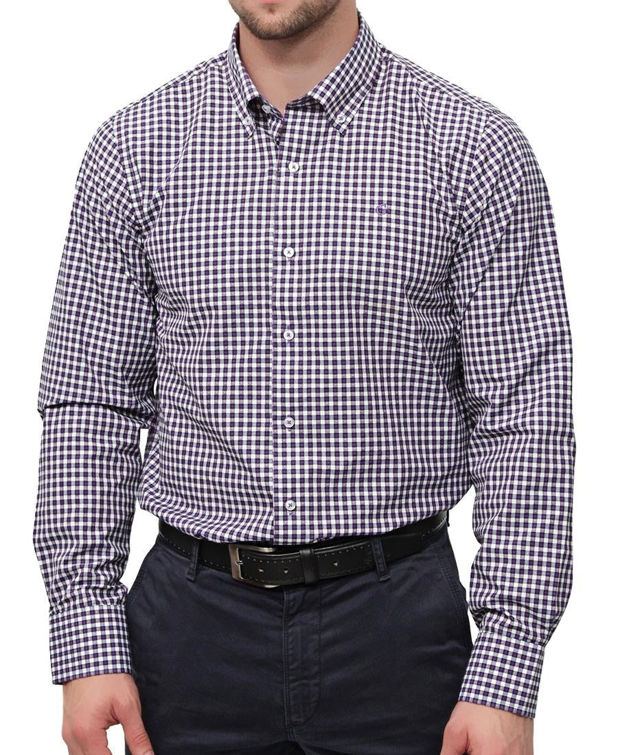 Check Shirt - Purple