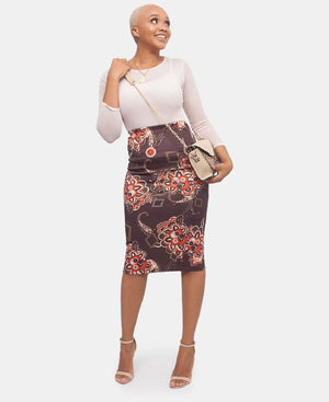 Pencil Skirt - Multi