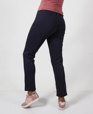 Straight Leg Pants - Navy
