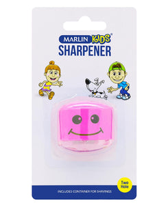 Marlin 2 Hole Sharpener - Pink
