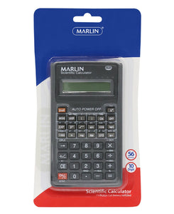 Marlin 10 Digit Scientific Calculator - Black