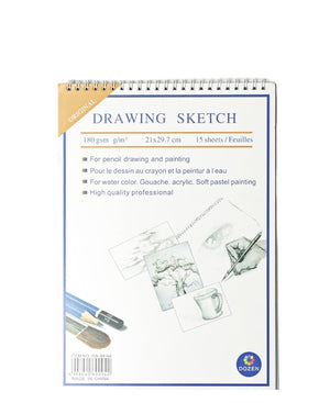 Drawing Sketchbook - White