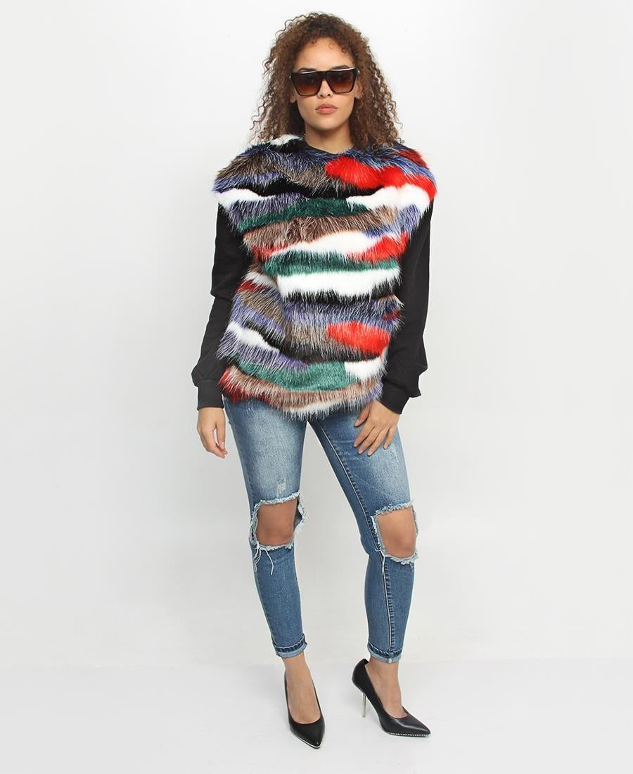 Fluffy Top - Multi