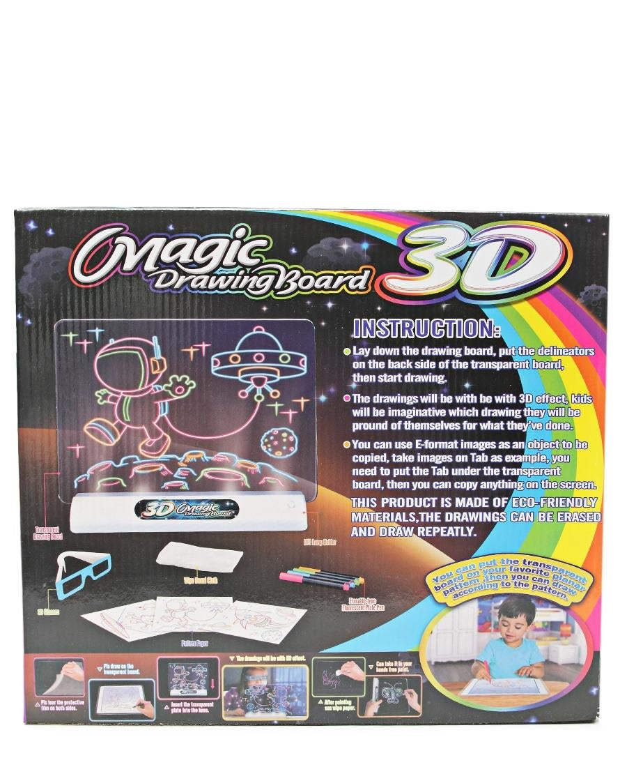 3D Drawing Board - White