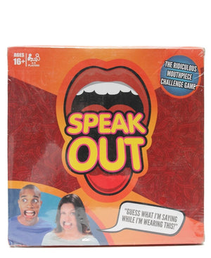Speak Out Board Game - Red
