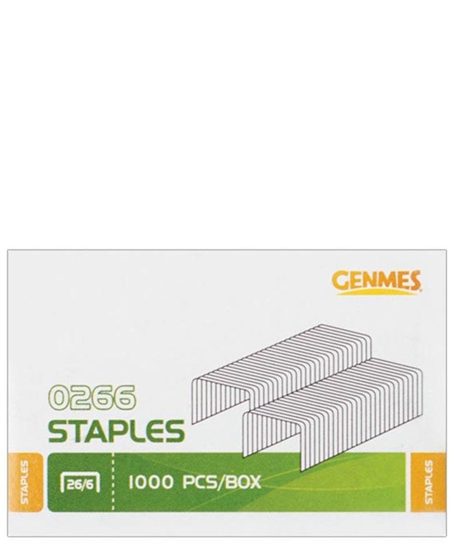 Genmes 1000 Piece Staples - Multi