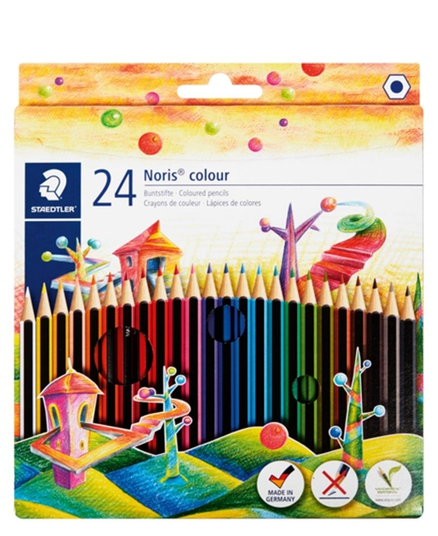 Staedtler 24 Pack Noris Colour Pencils - Multi