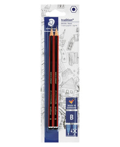Staedtler 2 Pack Pencils - Red