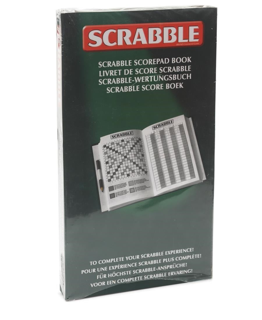 Scrabble Score Book - Green