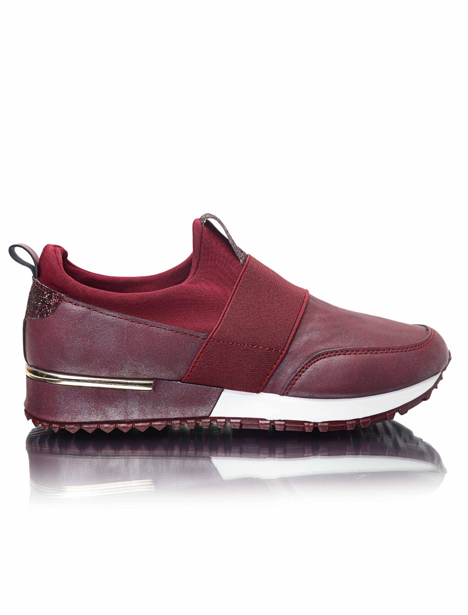 Ladies' Balance Slip On - Burgundy