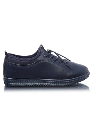 Ladies' Sneakers - Navy