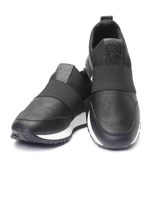 Ladies' Balance Slip On - Black