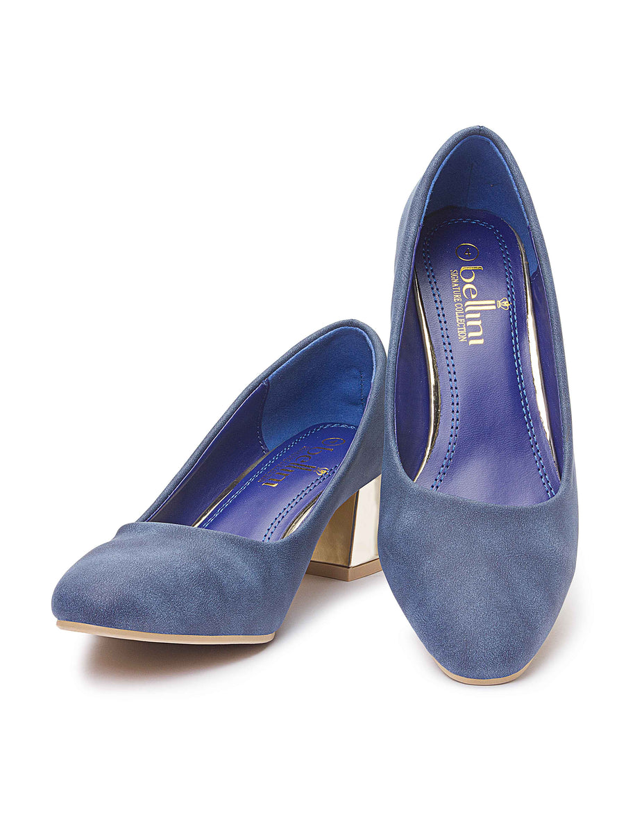 Court Shoe - Navy