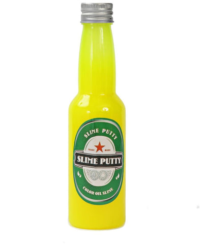 Slime Putty Bottles - Yellow