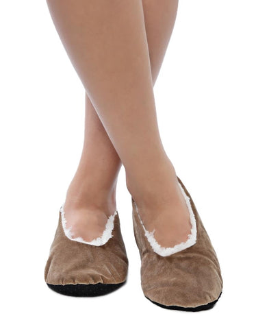 Bedroom Shoes - Taupe