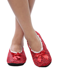 Bedroom Shoes - Red