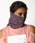 Kids Face Buff Neck Warmer - Red