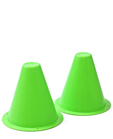 Soccer Cones Small - Set Of 2 - Green