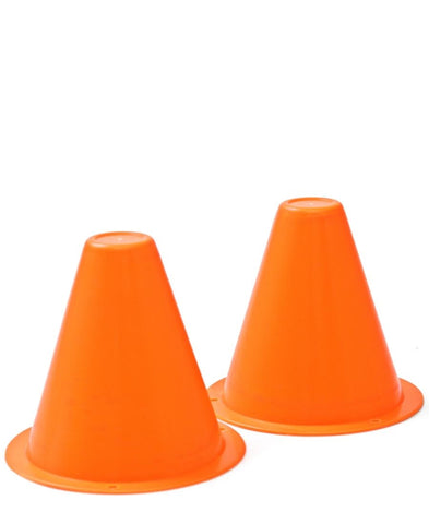 Soccer Cones Small - Set Of 2 - Orange