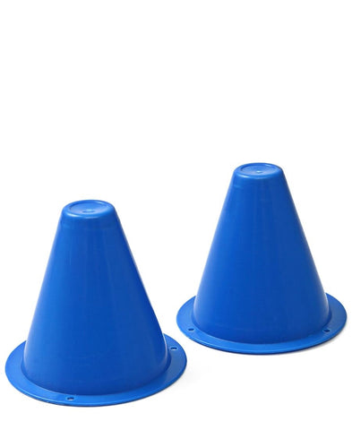 Soccer Cones Small - Set Of 2 - Blue