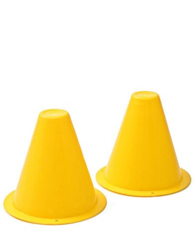 Soccer Cones Small - Set Of 2 - Yellow