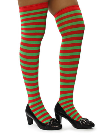 Stockings Stripes - Green