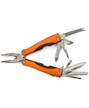 Utility Knife With Pliers - Orange