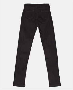 Girls Skinny Jeans - Black