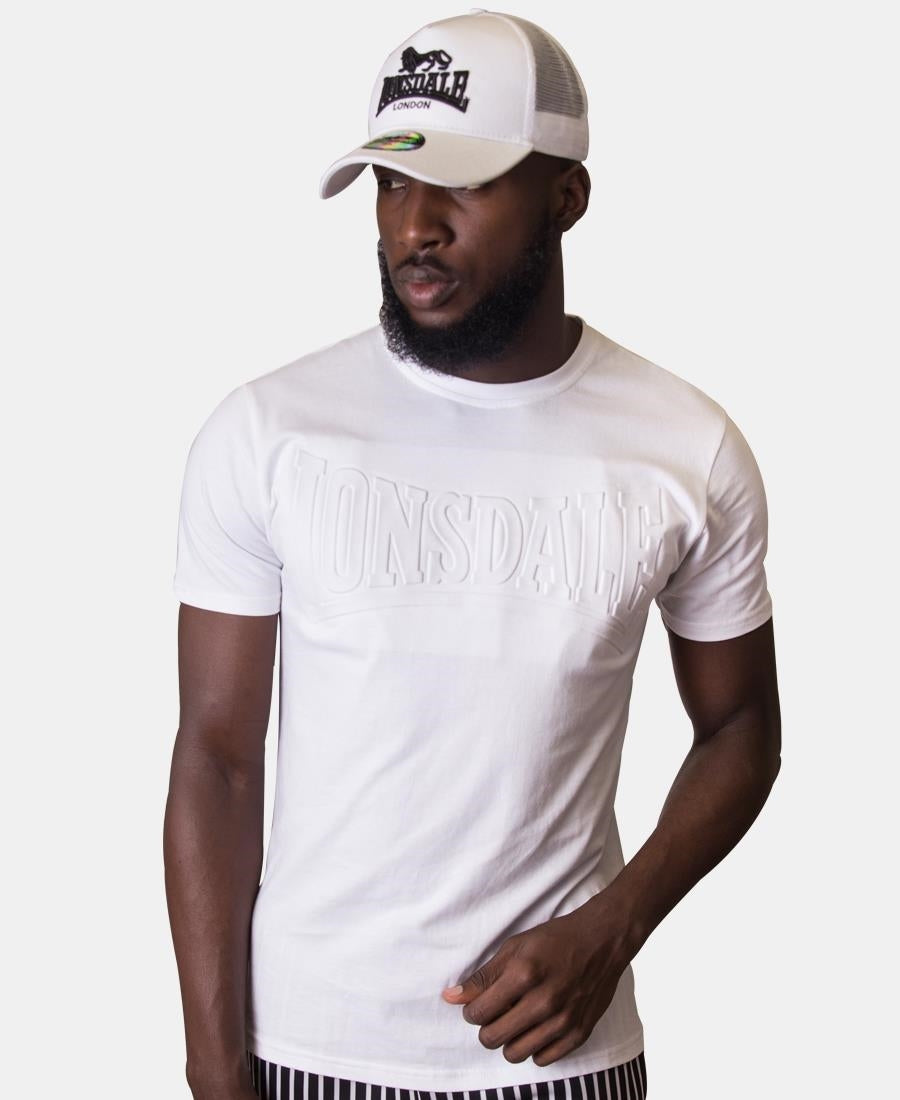 Lonsdale Embossed T-Shirt - White