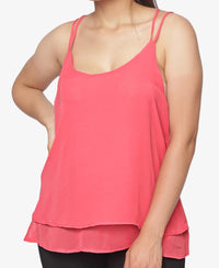 Sleeveless Top - Coral