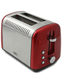 Defy 2 Slice Toaster - Red