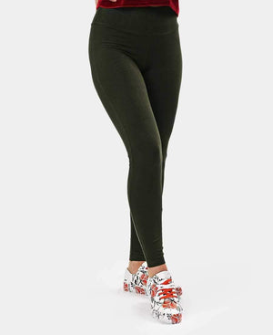 Ladies' Lycra Tights - Green